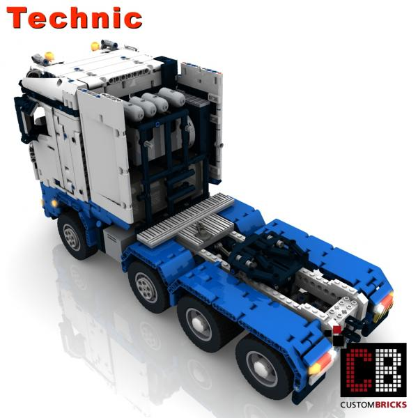 lego technic model arocs slt rc truck. Black Bedroom Furniture Sets. Home Design Ideas