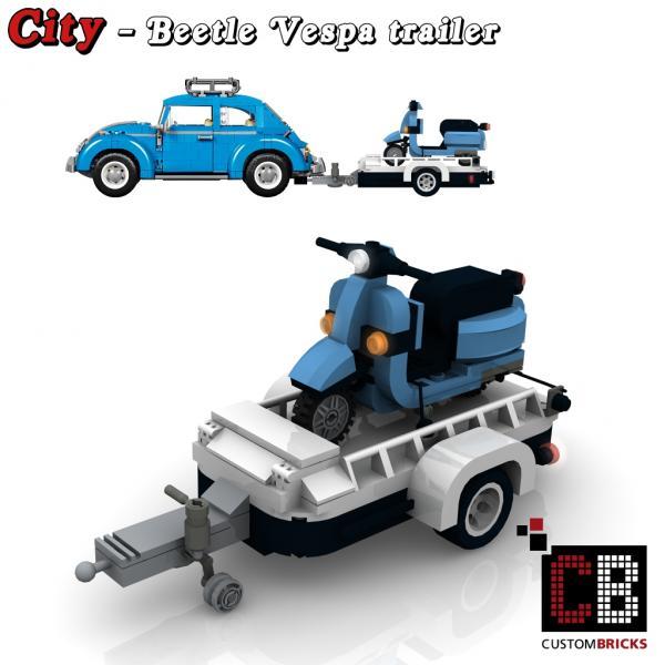 lego city anh nger fahrzeug trailer. Black Bedroom Furniture Sets. Home Design Ideas