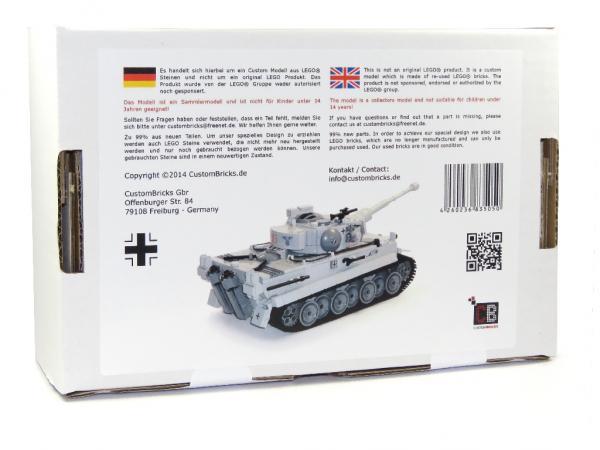 NEW 214PCS Tiger Tank Mortar Military Fighter Building Block Bricks Model Set